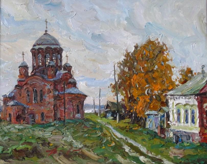 """Константин Долгашев, """"Вечер на Ильин-горе"""""""