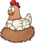 31960630-cartoon-hen